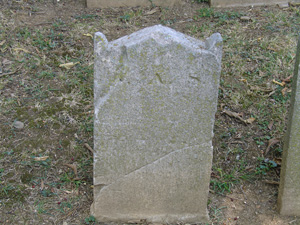 footstone for J. Arnold Standhouse
