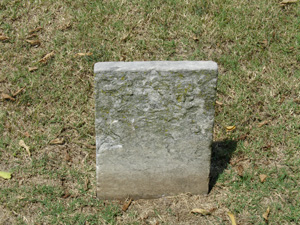 footstone for Maria Gallaghan