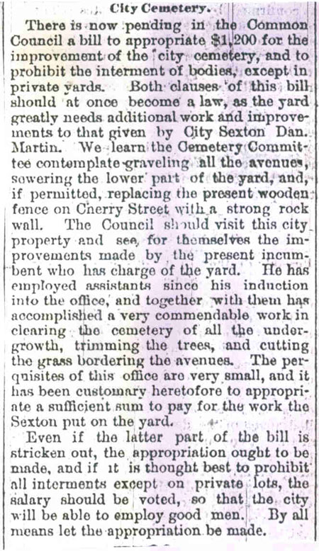Article March 1874