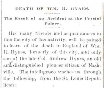 William Hynes Obituary
