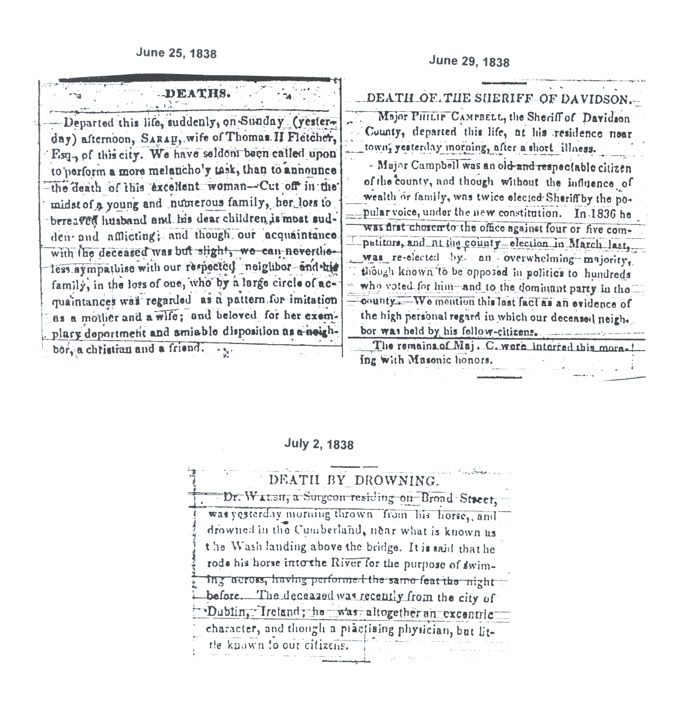 1838 Obits Page 1