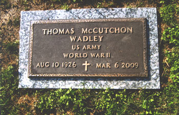 Wadley, Thomas McCutcheon